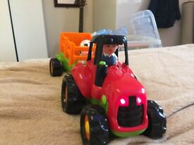 ELC Lights and Sounds Happyland Farm Tractor