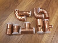 Geberit Mapress 35mm 90-45 degrees Copper Fitting