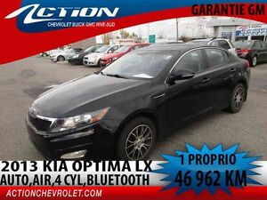 2013 Kia OPTIMA LX,AUTO,AIR,2.4L,BLUETOOTH