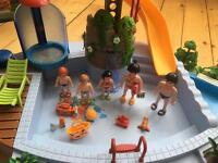 Playmobil swimming pool great condition £20