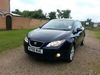 2009 SEAT IBIZA 1.6 TDI CR SPORT COUPE DIESEL BLUE