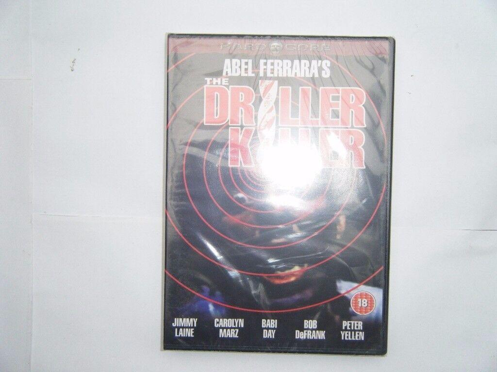 The Driller Killer. DVD. New in packaging.