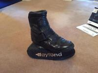 Gents Daytona Motorbike boots 43/ uk9