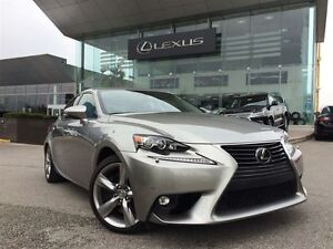2015 Lexus IS 350 Executive Pkg AWD Back Up Cam Bluetooth Sunroo