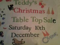 Christmas table top sale