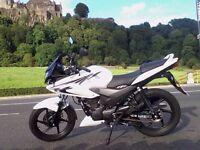 125cc Honda CBF, 5000miles, full history, currently not insured
