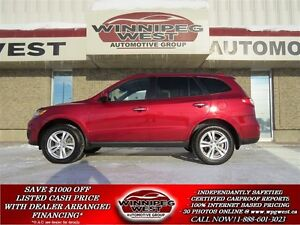 2010 Hyundai Santa Fe LIMITED AWD, SUNROOF, HEATED LEATHER, BLUE