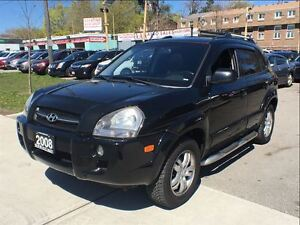 2008 Hyundai Tucson GLS V6 LEATHER/ROOF/4WD