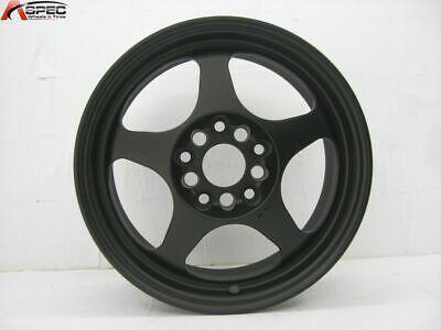 15x8 Rota SLIPSTREAM 5x114.3 +40 Flat Black Rims New Set