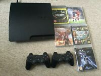 PS3 excellent condition + controller + Games