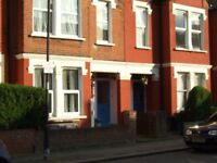 Large 1 bed partially furnished first floor maisonette.