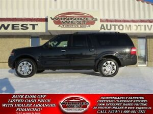 2012 Ford Expedition Max LIMITED 8 PASS 4X4, ROOF, NAV, PWR BOAR