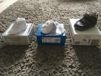 New shoes (Adidas, Nike and Clarks)