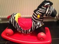 Little Tikes 2-in-1 Rock n Scoot Zebra