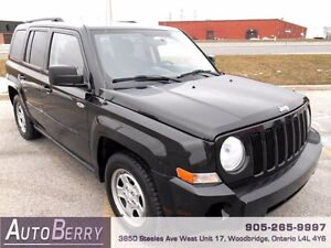 2010 Jeep Patriot Sport **CERT & E-TEST ACCIDENT FREE** $5,999