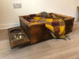 Reclaimed dog bed