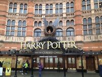 HARRY POTTER AND THE CURSED CHILD TICKETS PARTS 1- THIS THURSDAY 27TH OCTOBER- URGENT SALE