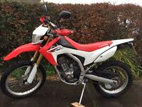 Honda CRF250L Road Legal Enduro Bike For Sale