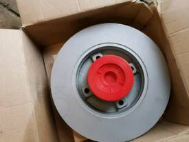 Wheel bearing and disk for a Peugeot 207 or Citroen Passat