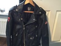 Steels wheels leather Jacket, Collectable item.