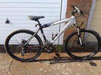 """18"""" Carrera kraken bicycle"""