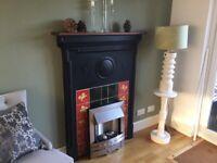 Victorian fire surround height 138 mm x 90 mm