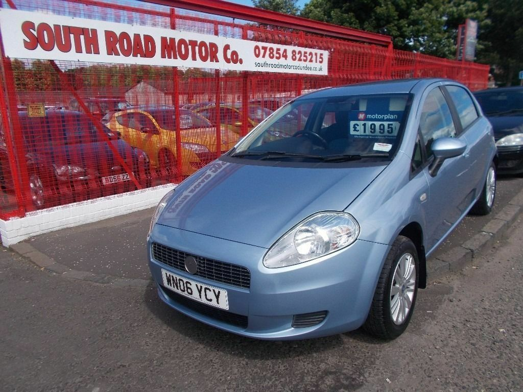 fiat punto dynamic 1 2 2006 metallic blue very tidy full years mot bargain at only 2495 in. Black Bedroom Furniture Sets. Home Design Ideas