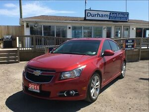 2011 Chevrolet Cruze LTZ Turbo w/1SA