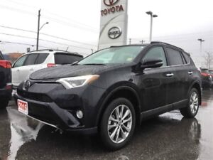 2016 Toyota RAV4 LIMITED-NAVIGATION+LEATHER+MORE!