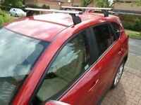 Exodus roof rack / bars - with 2 keys. Excellent condition.