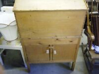 antique clerks writing bureau