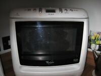 White Whirlpool Microwave