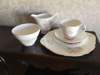 Royal Stuart Pink Peonies Bone China Tea Set