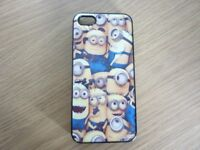 FREE iPhone 5 case with minions design