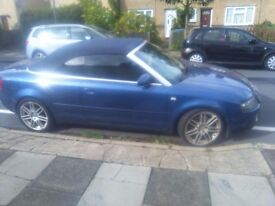 AUDI A4 S-LINE SPORT CONVERTIBLE 2005 WITH LPG