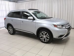 2017 Mitsubishi Outlander V6 TOURING EDITION AWC 7PASS w/ HEATED