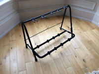 5-Way Folding Guitar Stand Rack for Guitar and Bass