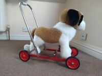 Lovely dog walker/ride on toy