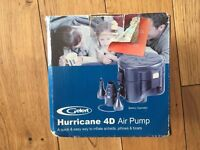 Gelert Hurricane 4D Air Pump for Inflating and Deflating Camping Mattresses