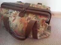 Marks & Spencer tapestry canvas holdall