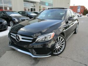 2015 Mercedes-Benz C-Class C400 4MATIC FULLY LOADED