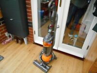 DYSON DC25 ALL FLOORS YELLOW BALL 2 TOOLS EXCELLENT CONDITION AND STRONG SUCTION
