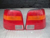 VOLKSWAGEN GOLF MK4 VW REAR LIGHTS BRAKE SE BACK LIGHTS GT TDI