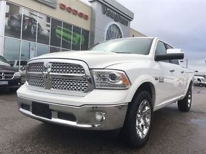 2016 Ram 1500 Laramie Crew Cab 4x4 - Loaded...with only 7552 kms