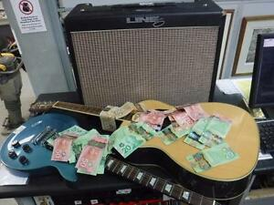 INSTANT CASH LOANS! Bring your Guitars to Cash Pawn for an INSTANT CASH LOAN! - QUICK $$$! - 4000 - CH121405