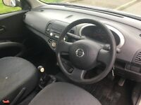 VERY GOOD CONDITION NISSAN MICRA MOT TILL SEP 2017 FOR SALR £550