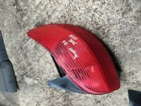 PEUGEOT 206 2002 OFF SIDE REAR LIGHT