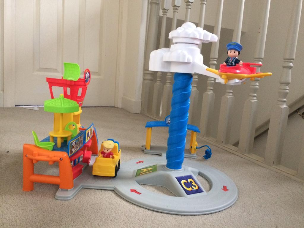 Toy : little people airport