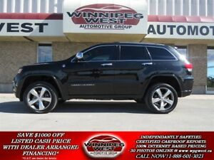 2014 Jeep Grand Cherokee OVERLAND DIESEL 4X4, EVERY OPTION, LOCA