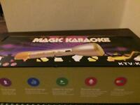 Karaoke Bluetooth microphone Apple Android compatible